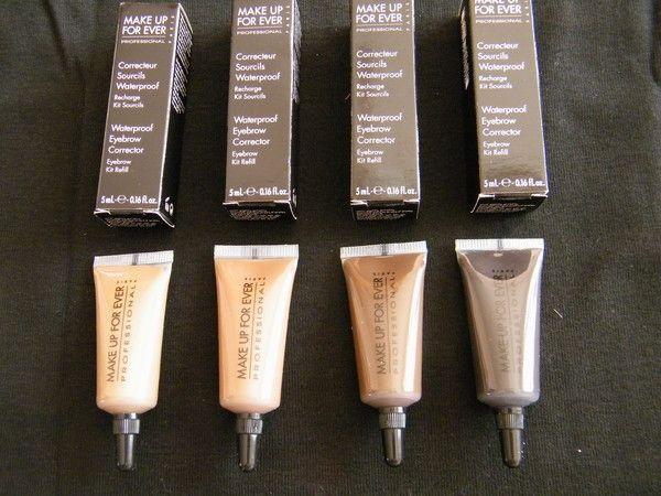 Crème sourcils waterproof de make up for ever